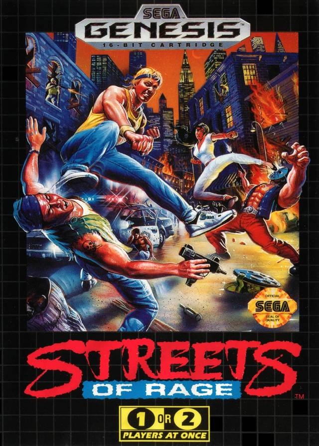 Streets Of Rage Review My Brain On Games
