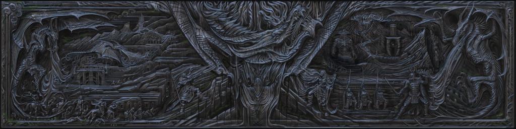 Skyrim Wall Art