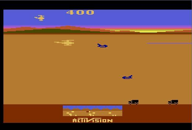 Of note, is the game's vital use of radar, showing players just what's off screen.