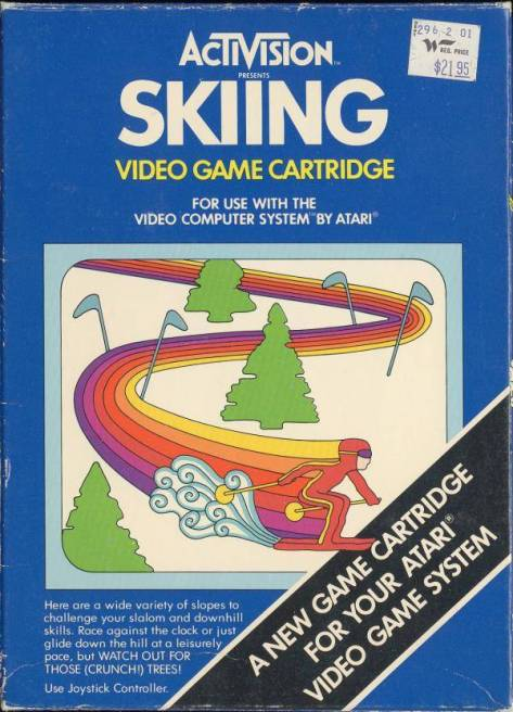 Not a lot of photos of Atari 2600 games without price stickers on them floating around on the internet.