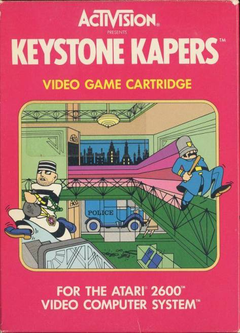 Officer Kelly runs and jumps comically good in Keystone Kapers.