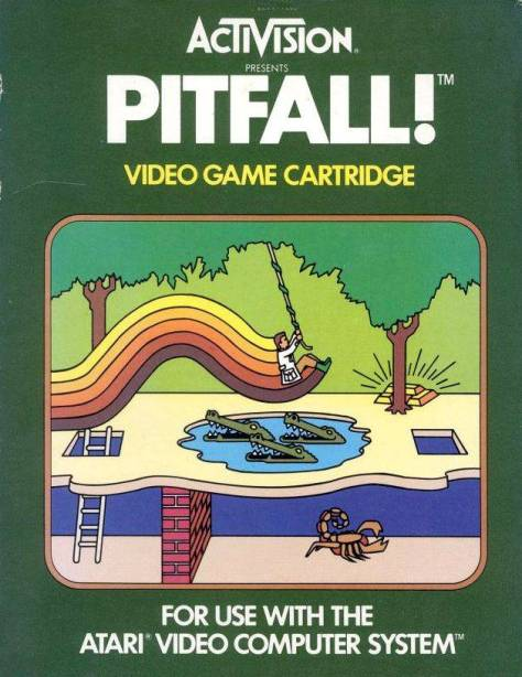 Selling north of four million copies, this is the second-best selling game on the Atari 2600.