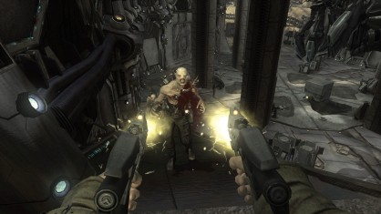 The game gets props for its new game plus features such as additional weapons, like this one.