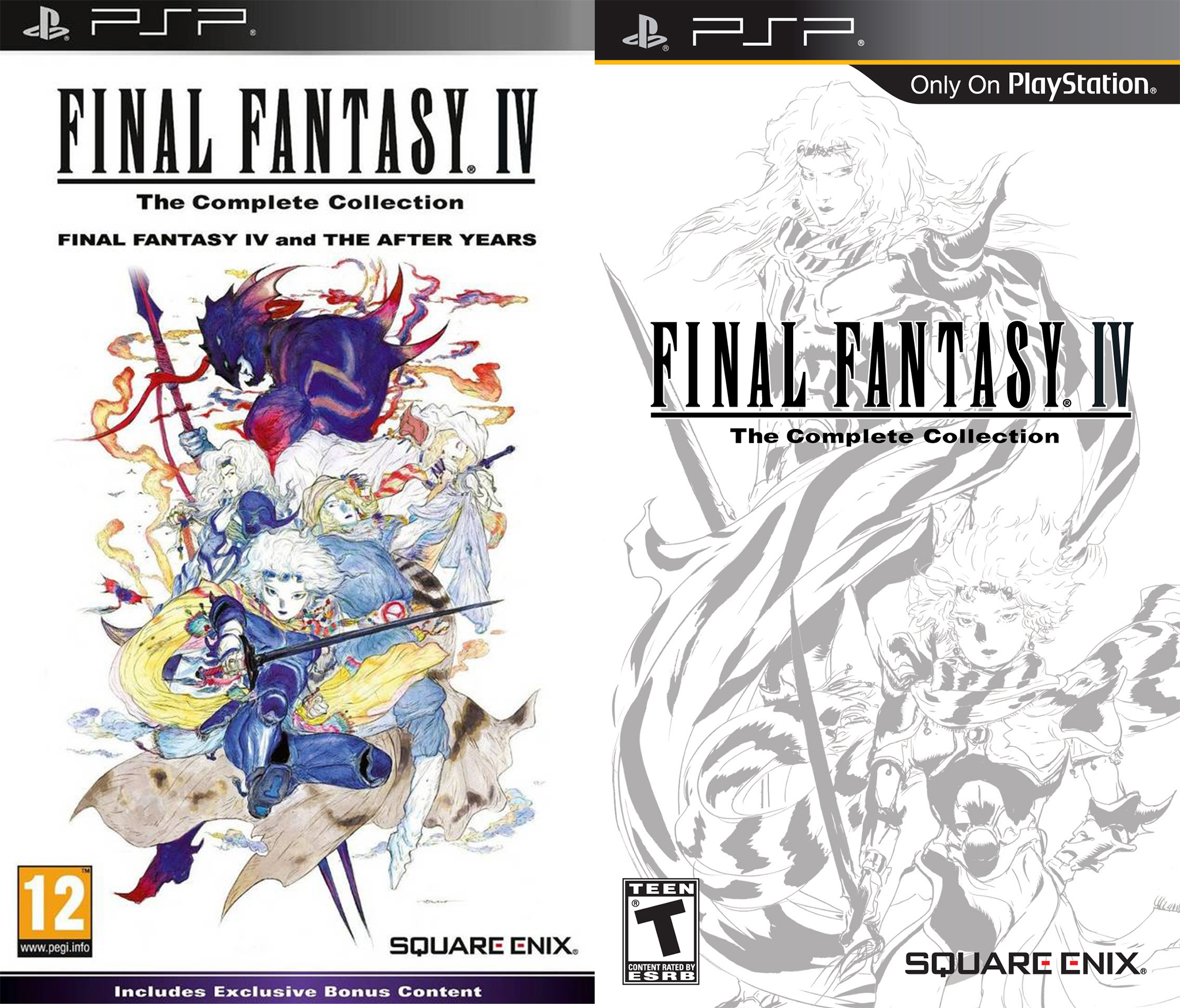 The PSP covers.