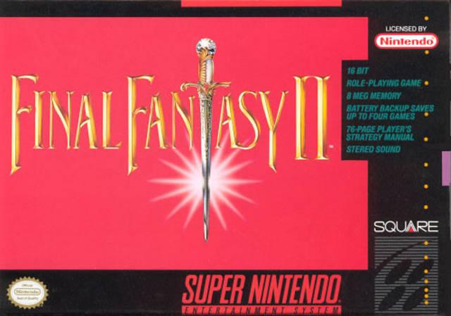 The Box Art Of Final Fantasy Iv My Brain On Games