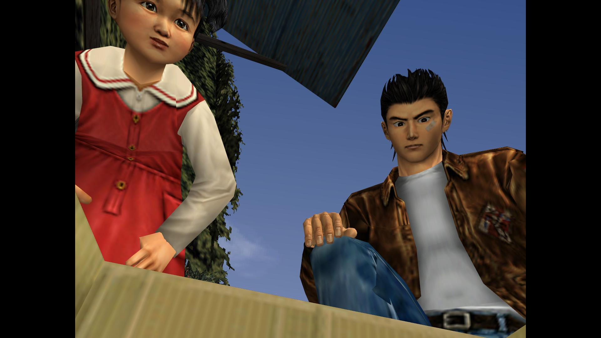 Watching Shenmue was an engrossing experience thansk to the dynamic camera angles.
