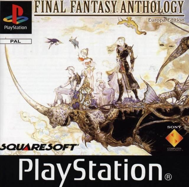 The European version includes Final Fantasy IV instead of Final Fantasy VI.