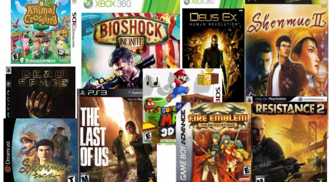 Top 10 Games I Played in 2013