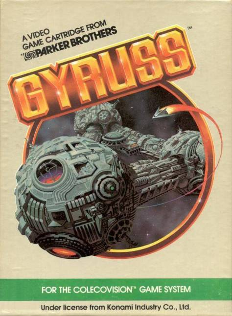 Gyruss - Colecovision