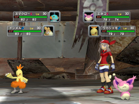 A battle featuring the female protagonist of Pokemon Ruby and Sapphire.