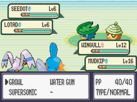 Double Battles were introduced with this generation.