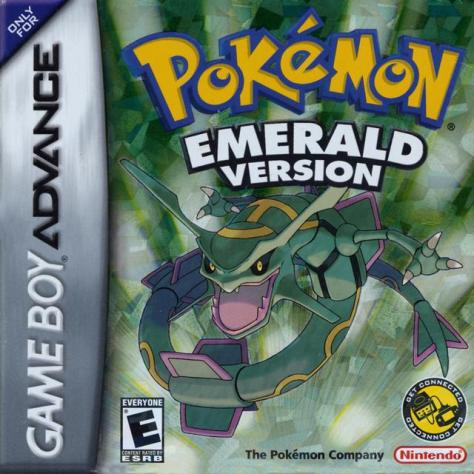 This wasn't the first, nor the last, of the Pokemon games to feature a reflective box.