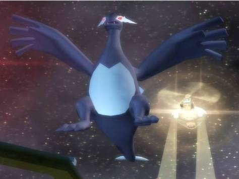 Some might say the Shadow Lugia is the reason to play this game.