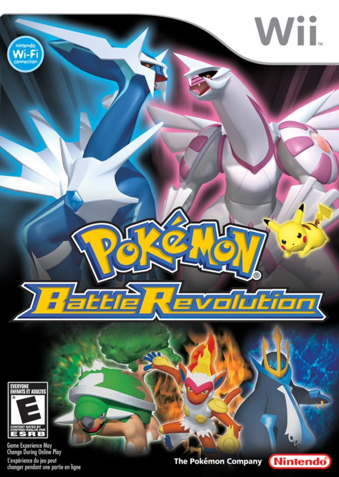 Pokemon Battle Revolution [Wii] – Review