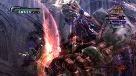 The game's set piece boss fights were definite highlights.