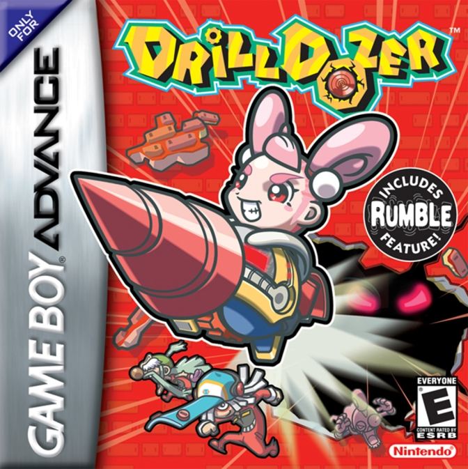 Random Game #3 – Drill Dozer [Game Boy Advance]