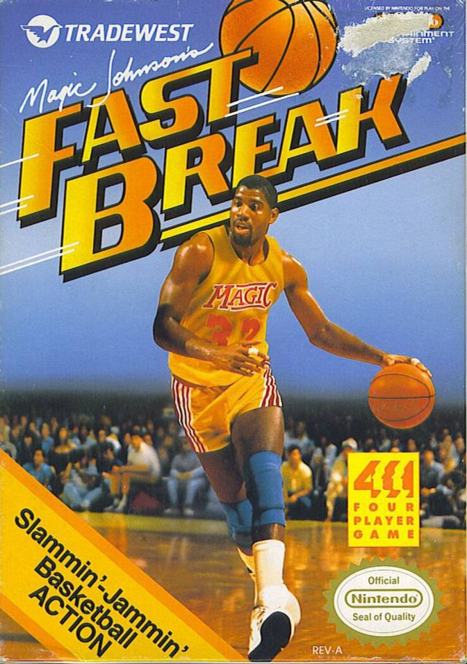 Random Game #12 – Magic Johnson's Fast Break [NES]