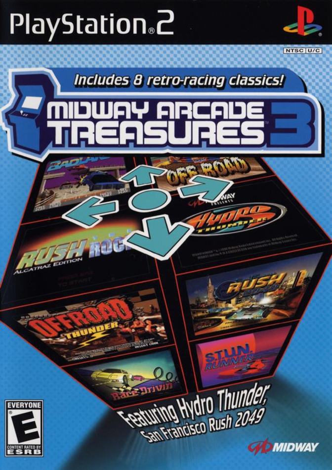 Random Game #8 – Midway Arcade Treasures 3 [PlayStation 2]
