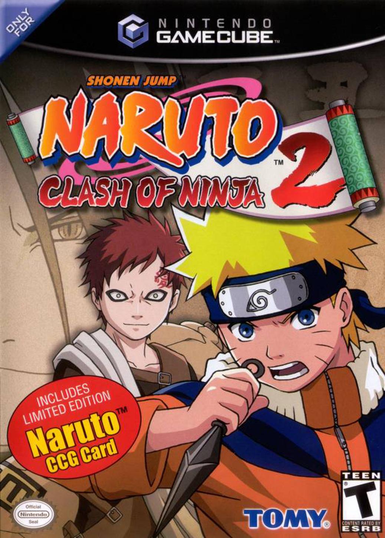 Naruto Clash Of Ninja Series : Random game naruto clash of ninja gamecube my
