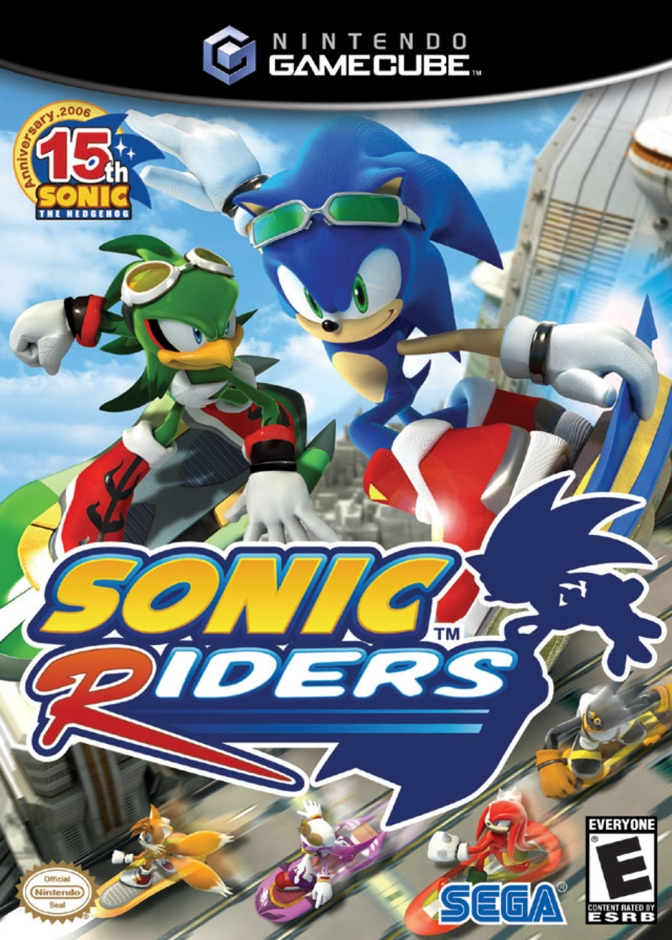 Random Game #24 – Sonic Riders [GameCube]