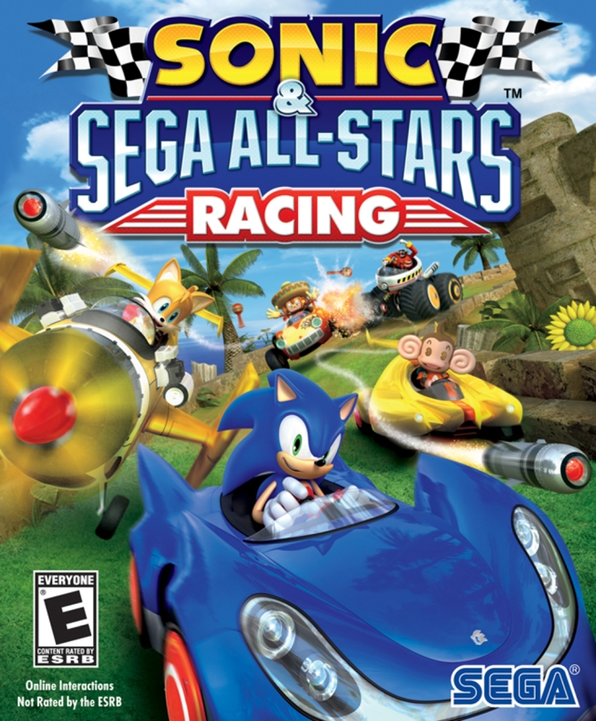 sonic racing games for 2 players