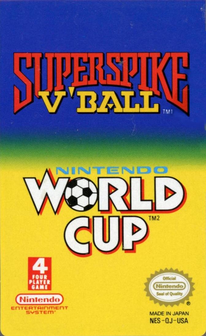 Random Game #23 – Super Spike V'Ball/Nintendo World Cup [NES]
