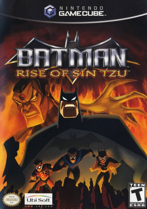 Batman Rise of Sin Tzu