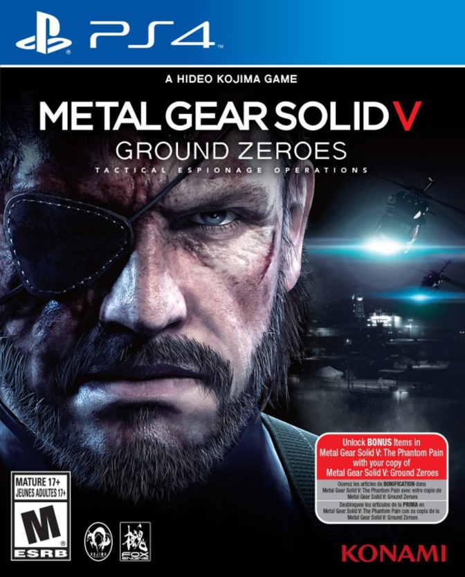 Metal Gear Solid V: Ground Zeroes [PlayStation 4] – Review
