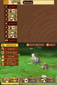 The battle system was relatively simple, and it bogged down my overall impression of the game.