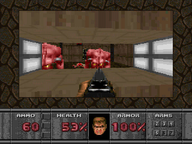 Doomguy, now's not the time for knock knock jokes!