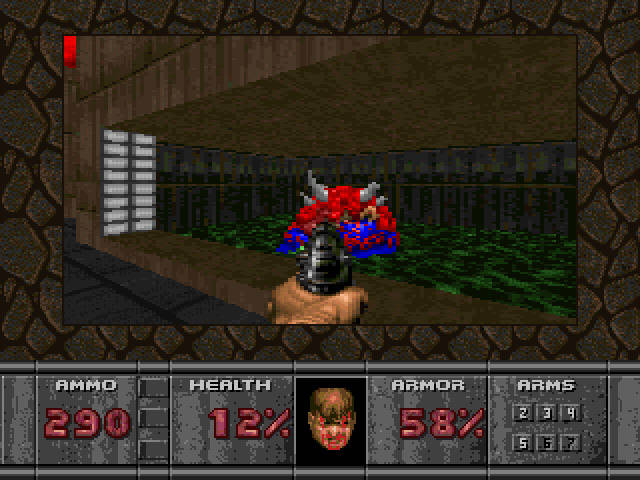 One knock against the 32X version is the limited real estate devoted to the game screen.