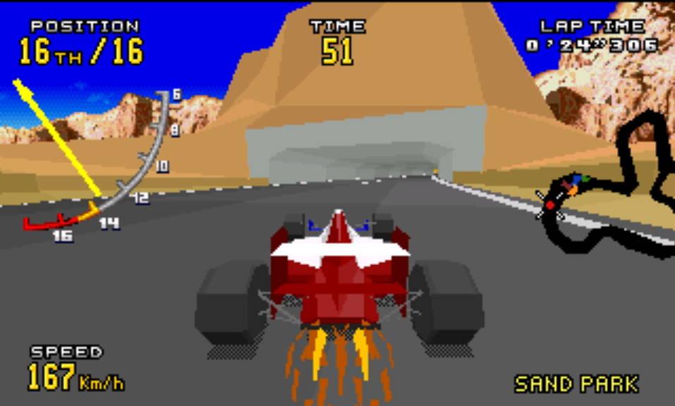 Virtua Racing Deluxe – Sega 32X [Review] | My Brain on Games