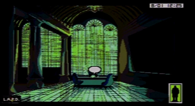 Oh yeah, this game was inspired by Blade Runner.