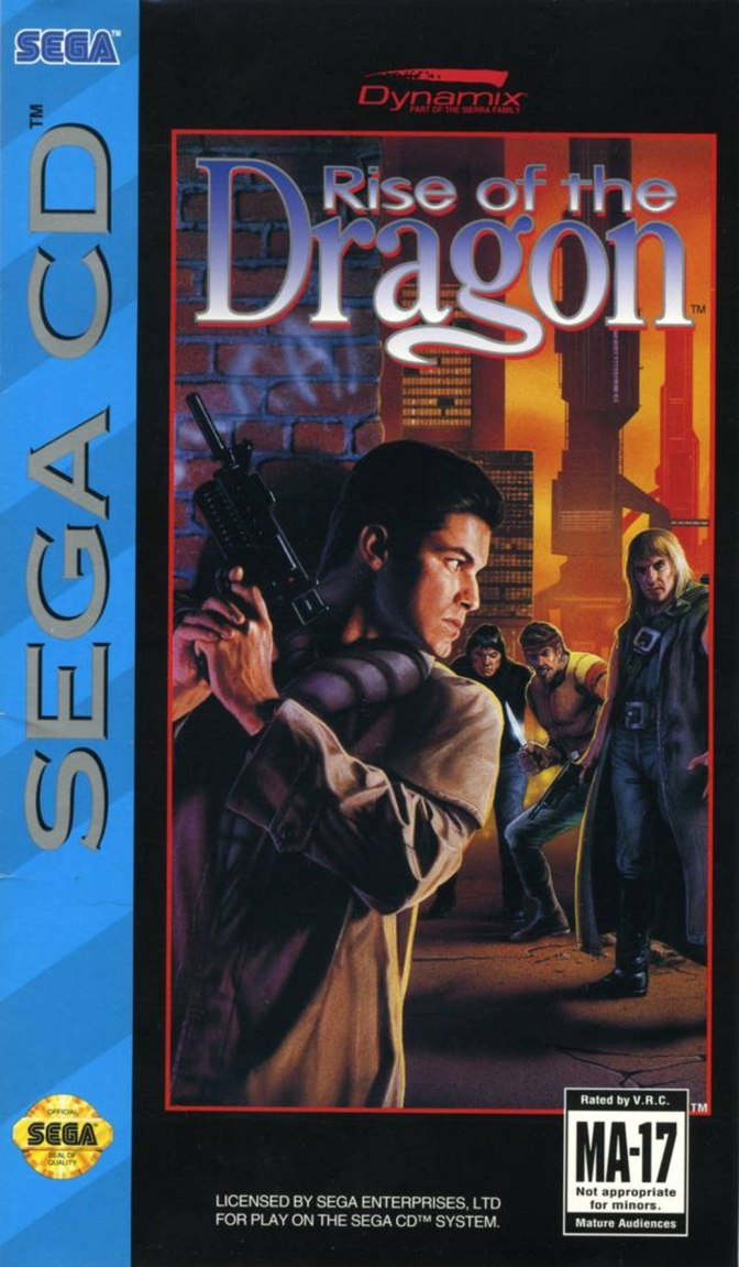Rise of the Dragon [Sega CD] – Review