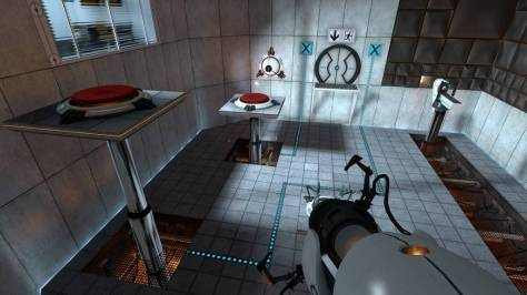 Portal was a puzzle game with an ingenious mechanic.