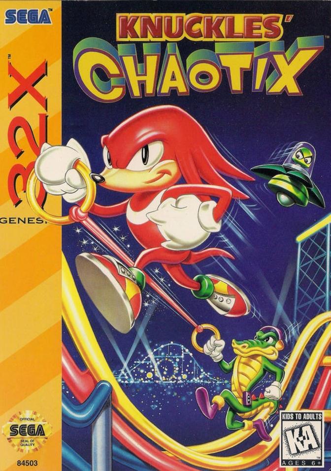 Knuckles' Chaotix [Sega 32X] – Review