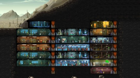 My vault, zoomed out to the ant farm perspective.