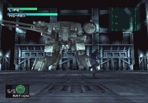 The showdown with Metal Gear Rex, like a few other boss fights, was no walk in the park.