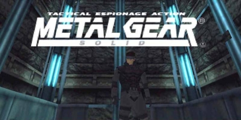 Metal Gear Solid - Title Card