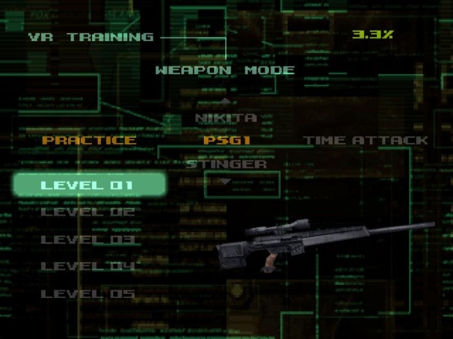 Missions revolving around Solid Snake's arsenal were the most common.