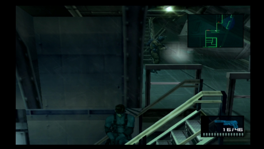 Metal Gear Solid 2 Sons of Liberty - Tanker