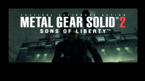 Metal Gear Solid 2 Sons of Liberty - Title Card