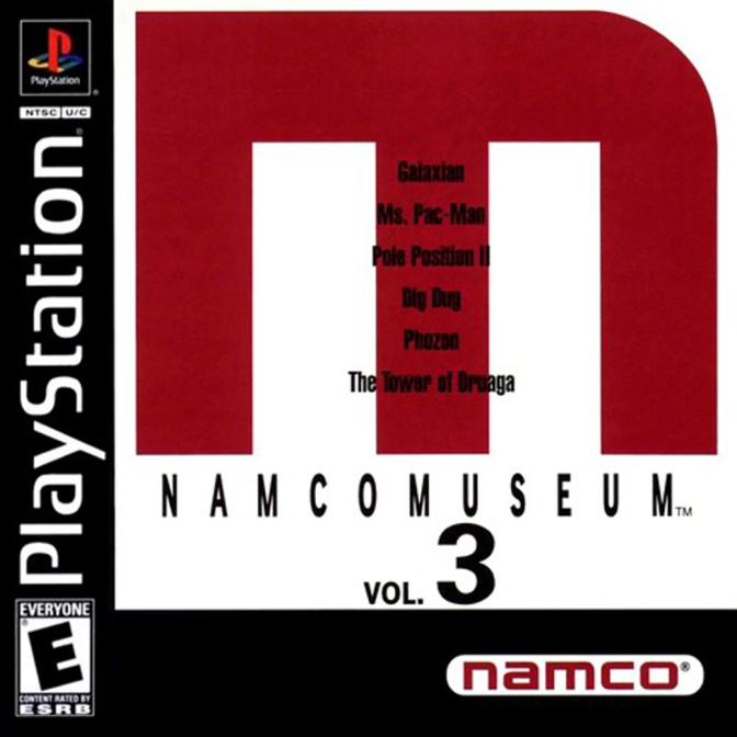 Namco Museum Vol. 3 [PlayStation] – Review