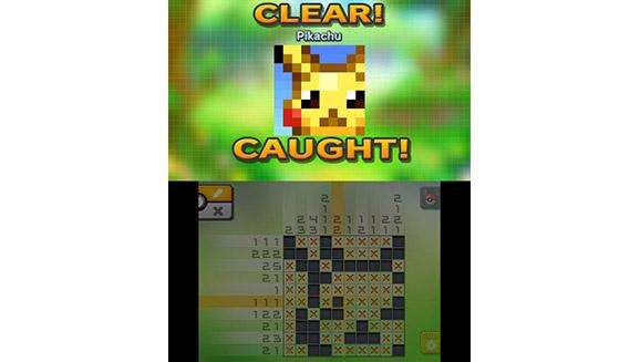 Pokemon Picross - Pikachu Capture