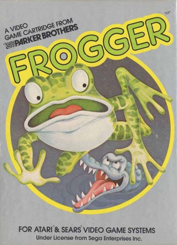 Frogger - Atari 2600