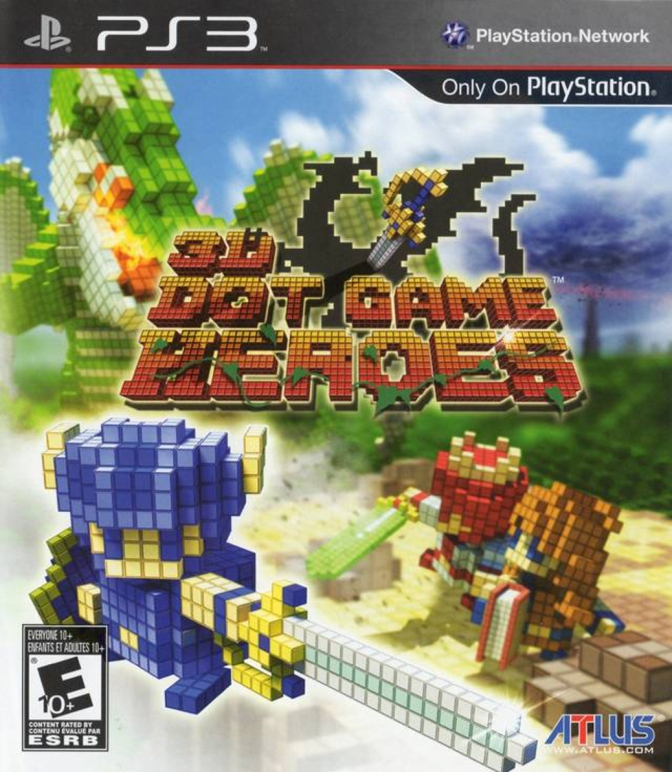 3D Dot Game Heroes [PlayStation 3] – Review