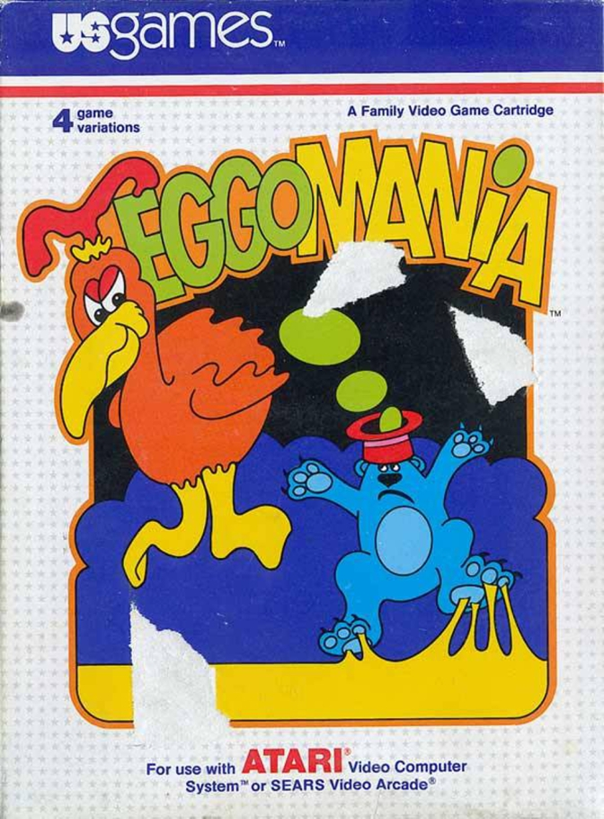 Eggomania [Atari 2600] – Review