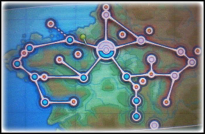 Pokemon Y - Map