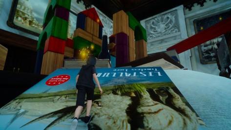 Platinum Demo Final Fantasy XV - Alice in Wonderland
