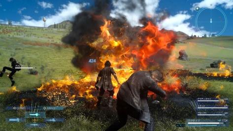 Platinum Demo Final Fantasy XV - Fire